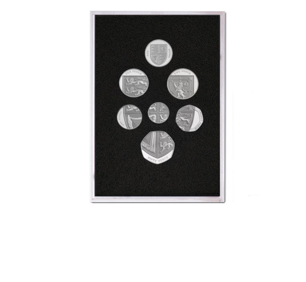 Queen Elizabeth II Proof Quality Coin Set in Silver of 2008