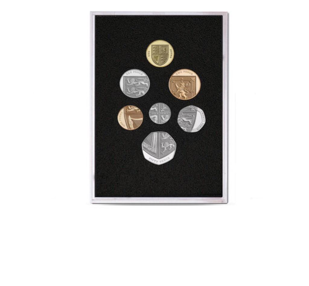 Queen Elizabeth II Proof Quality Coin Set of 2008