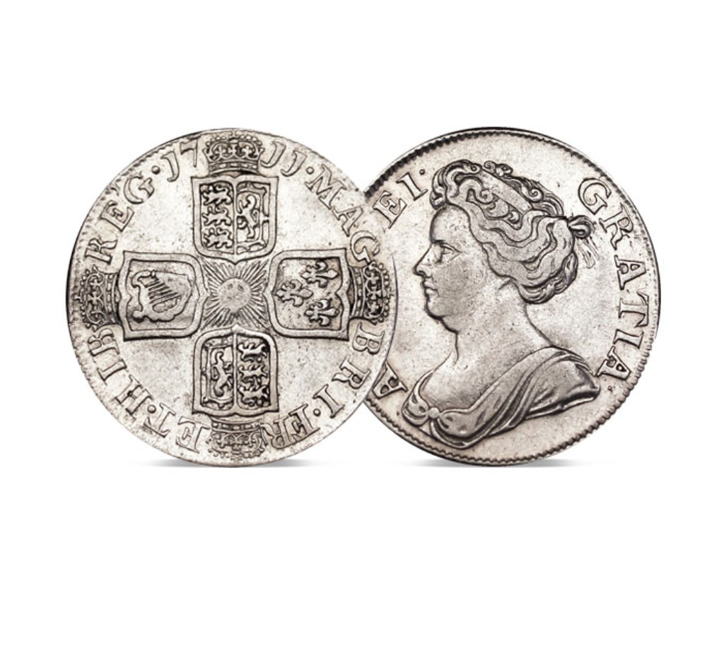 The Queen Anne Silver Shilling 1707-1714
