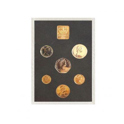 Queen Elizabeth II Proof Quality Coin Set of 1971