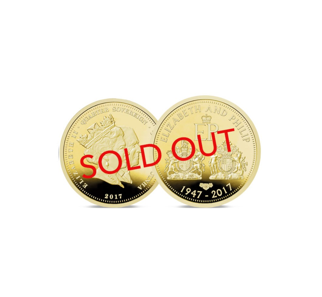 Double Portrait Quarter Sovereign Sold Out