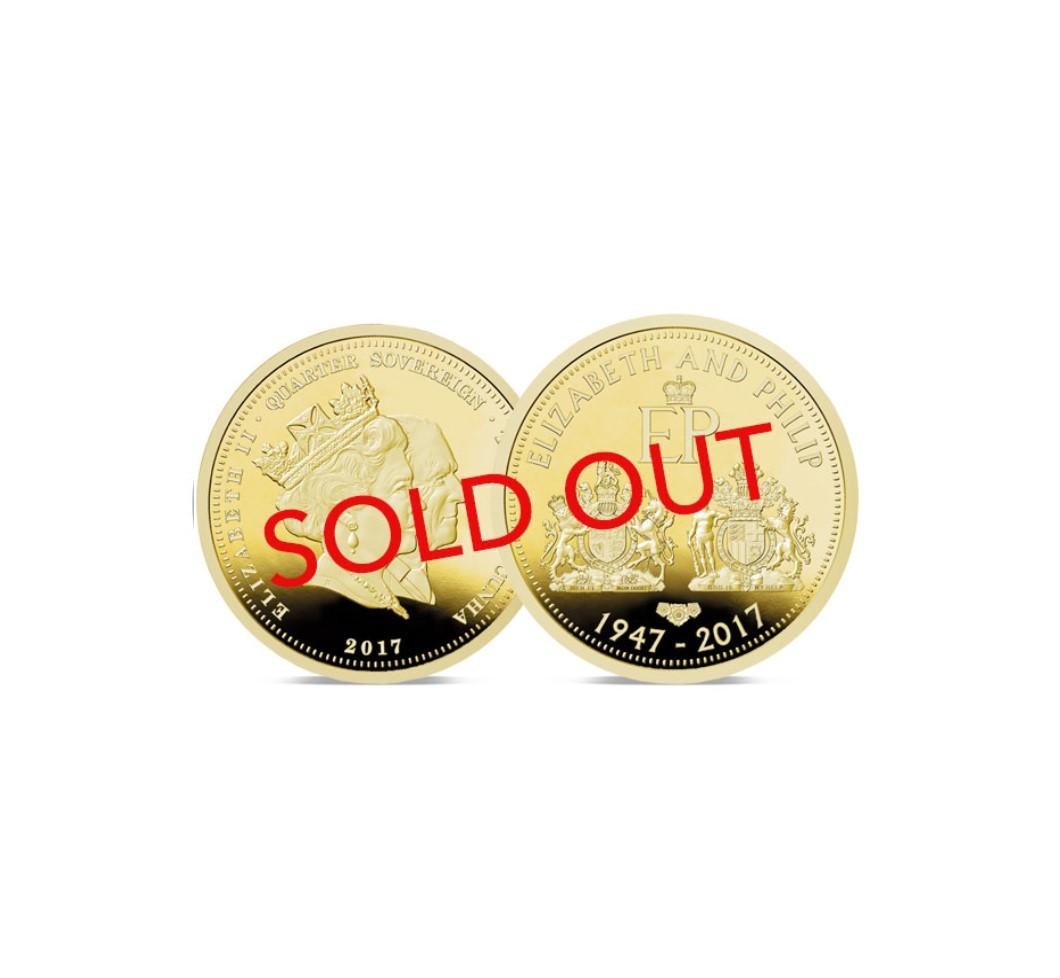 Double Portrait Quarter Sovereign Sold Out