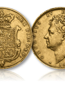 King George IV Gold Sovereign of 1825-1830