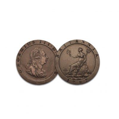 Image of King George III Britannia Penny of 1797