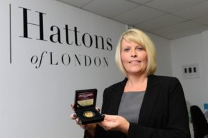 The Sentinal news article - Royal anniversary coin ' world first' for Hattons of London