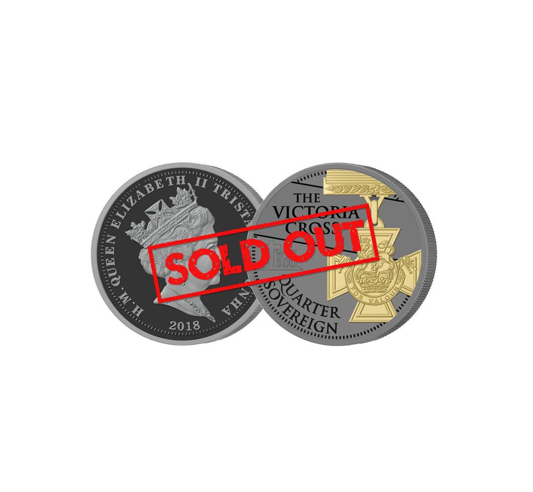 The 2018 Armistice centenary quarter sovereign