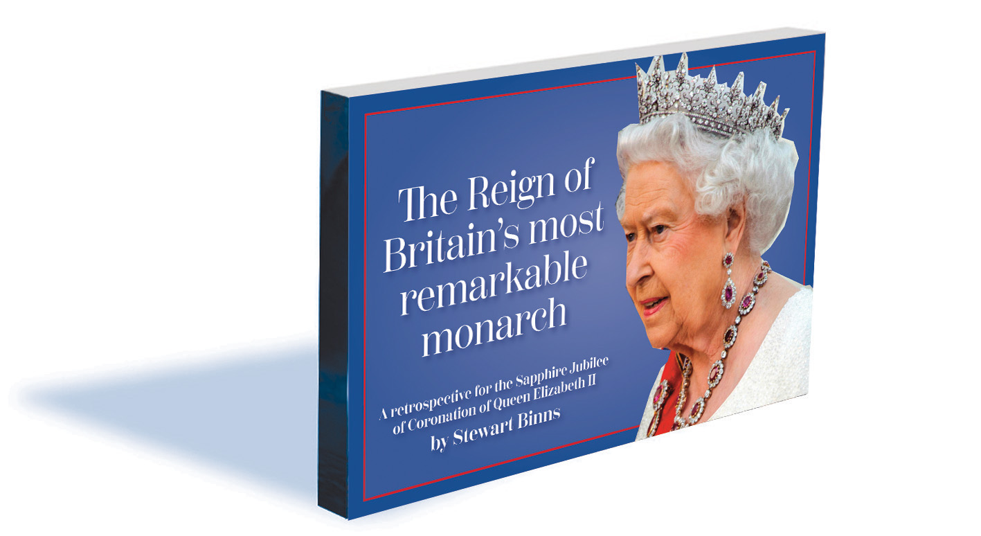 The Reign of Britain's Most Remarkable Monarch by Stewart Binns
