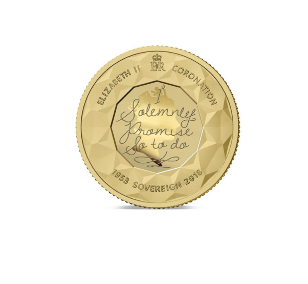 The 2018 Sapphire Coronation Jubilee Gold Sovereign