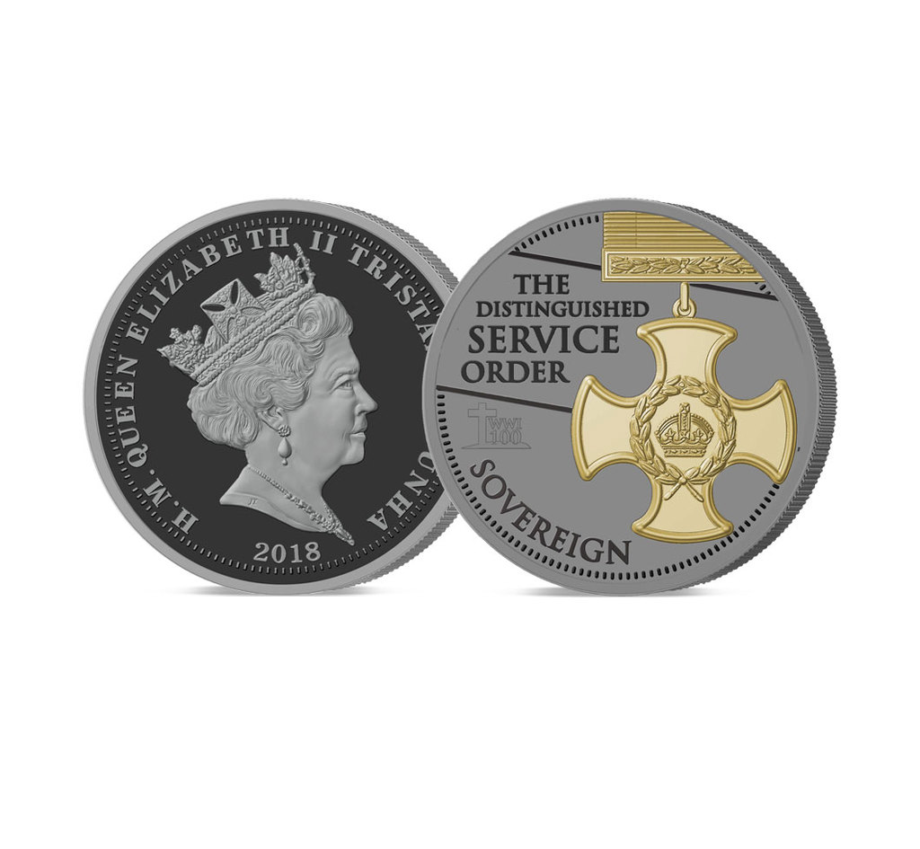 The 2018 Armistice Centenary Remembrance Gold Gallantry Proof Sovereign