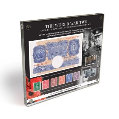 WWII Emergency Banknote and Stamp Limited Edition Set