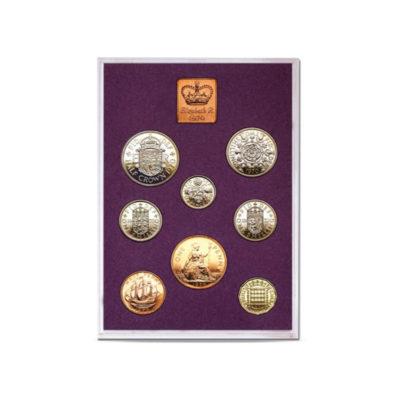 Queen Elizabeth II Proof Quality Coin Set 1970
