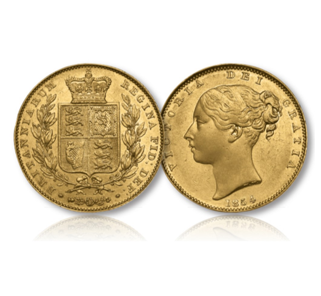 Queen Victoria Gold Sovereign of 1838-1874