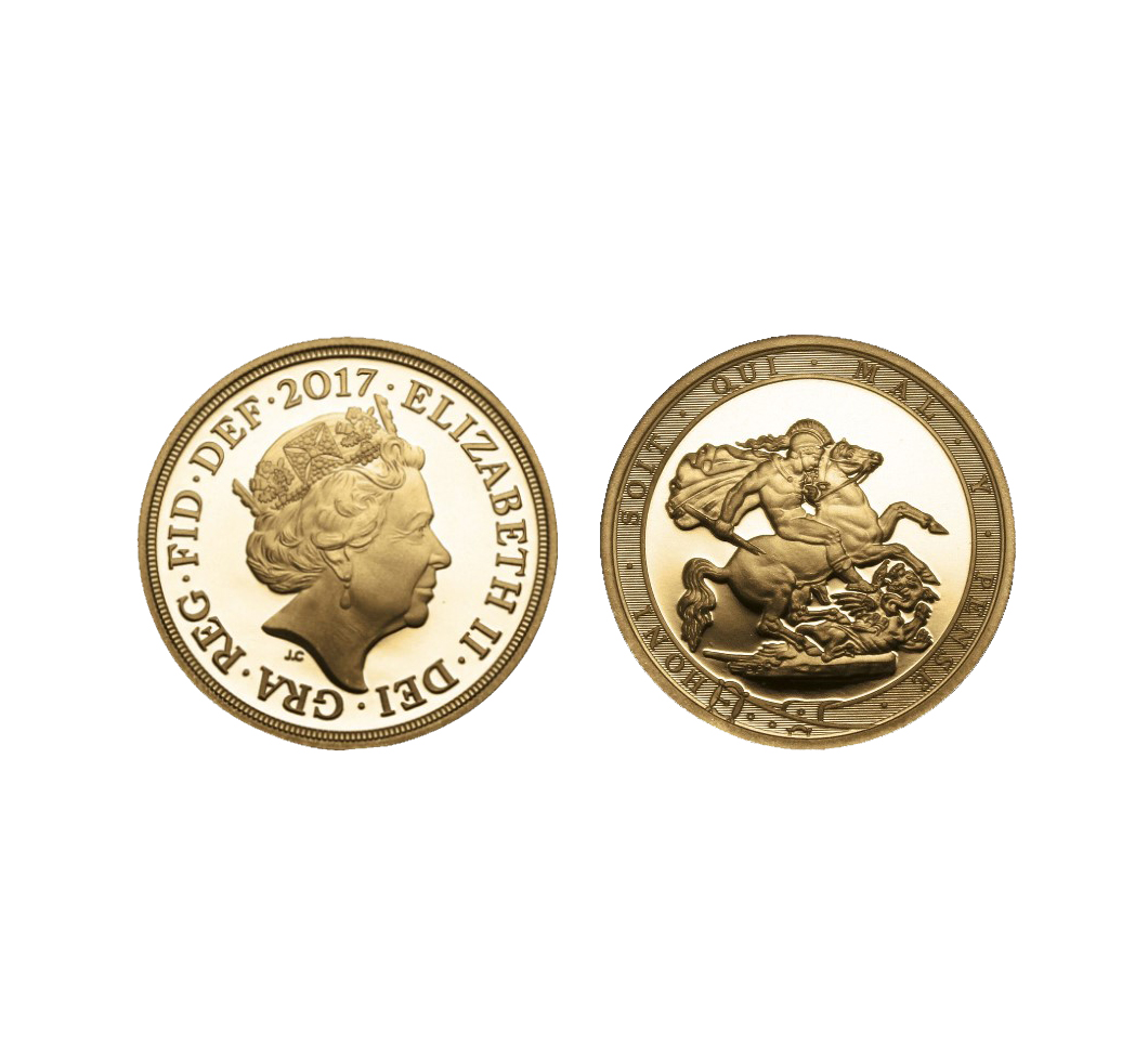The Queen Elizabeth II 2017 Proof Quarter Sovereign