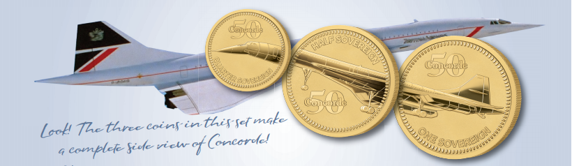 The 2019 Concorde 50th Anniversary Prestige Set image