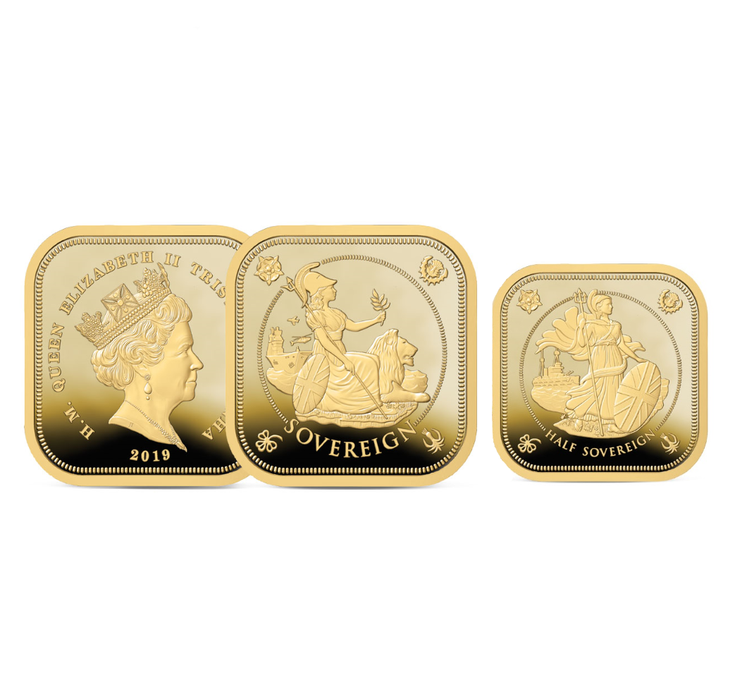 Image of the Half and Full Sovereign Set