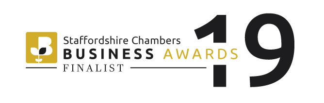 Staffordshire Business Awards Finalist 2019