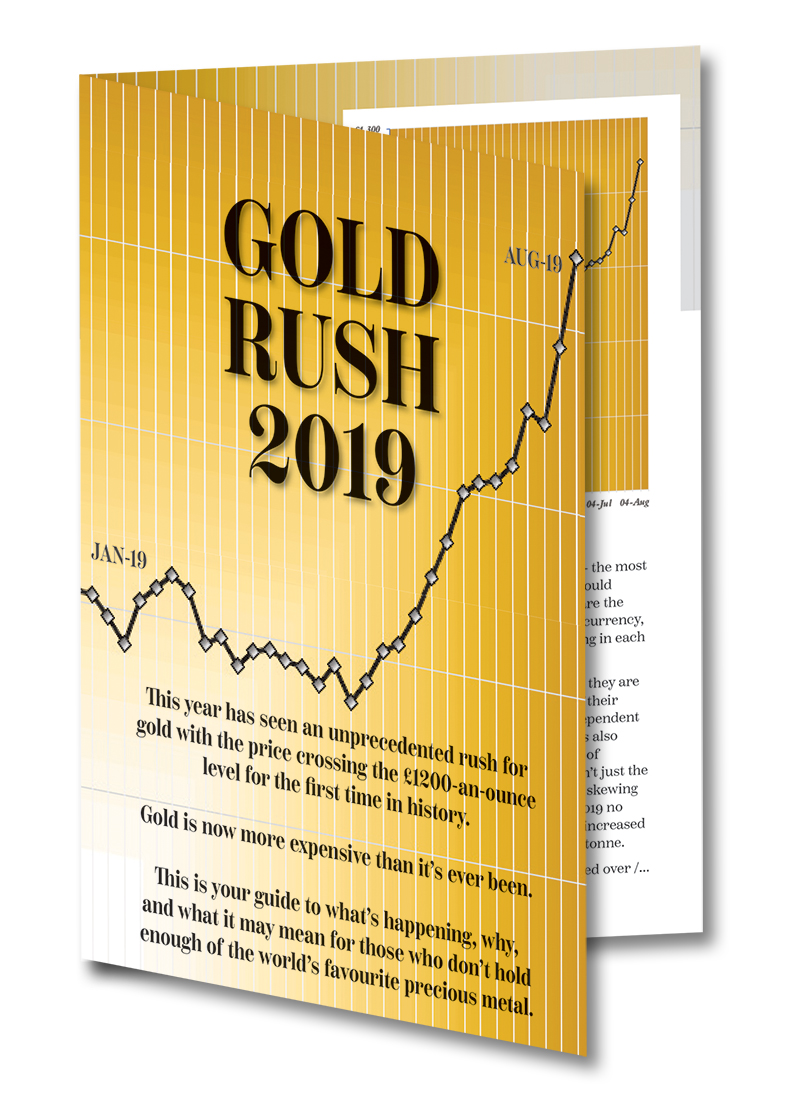 Gold Rush Pamphlet Image