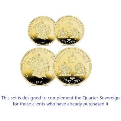 Double Portrait Half and Full Sovereign Set
