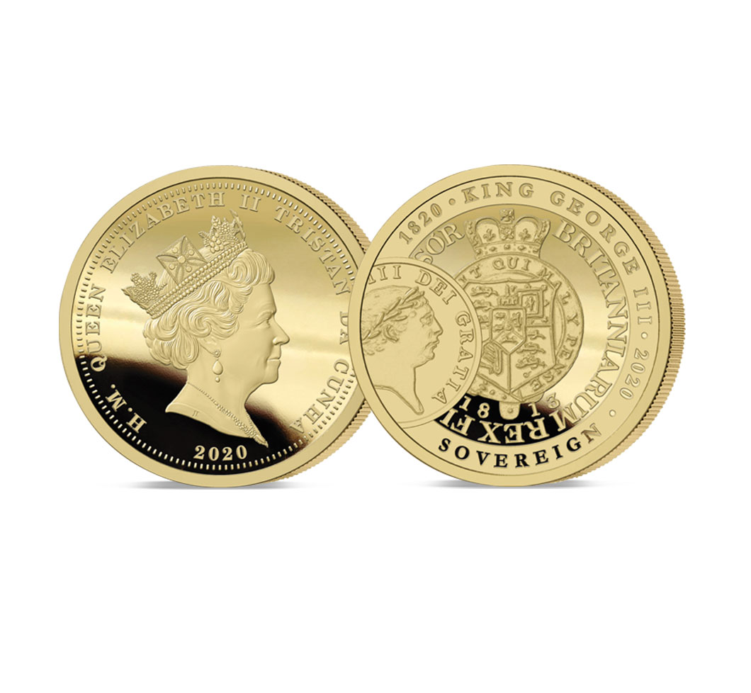 The 2020 George III 200th Anniversary Gold Sovereign