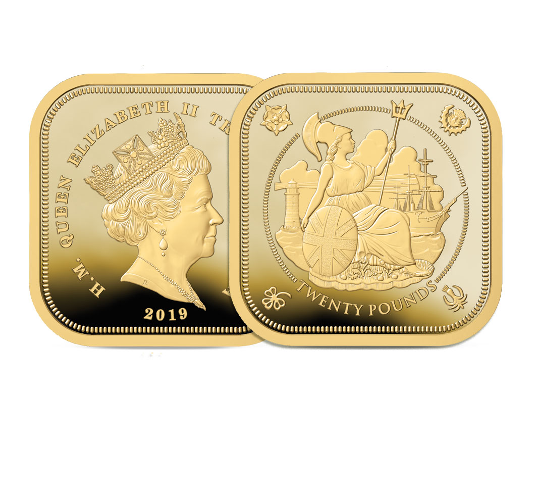 The 2019 Four Sided Gold £20 Pound Sovereign