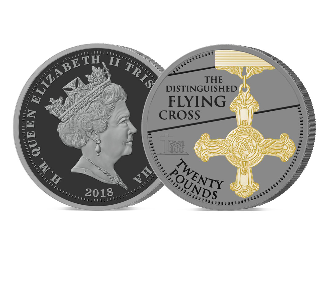 The 2018 Armistice Centenary Remembrance Gold Gallantry £20 Sovereign