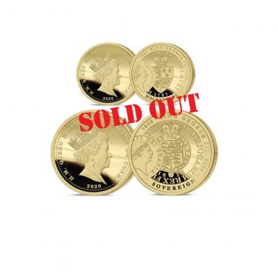 The George III Half and Full Sovereign Set Sold Out