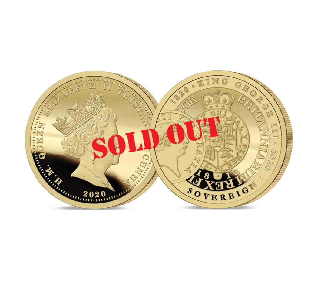 George III Sovereign Sold Out