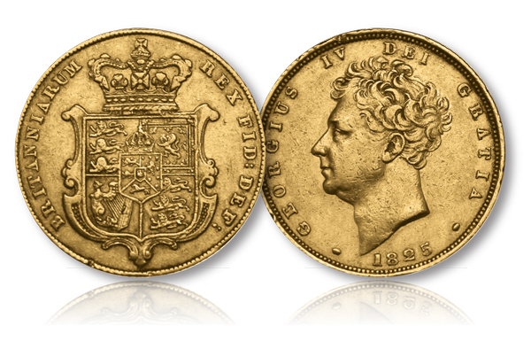 The King George IV Gold Sovereign of 1825
