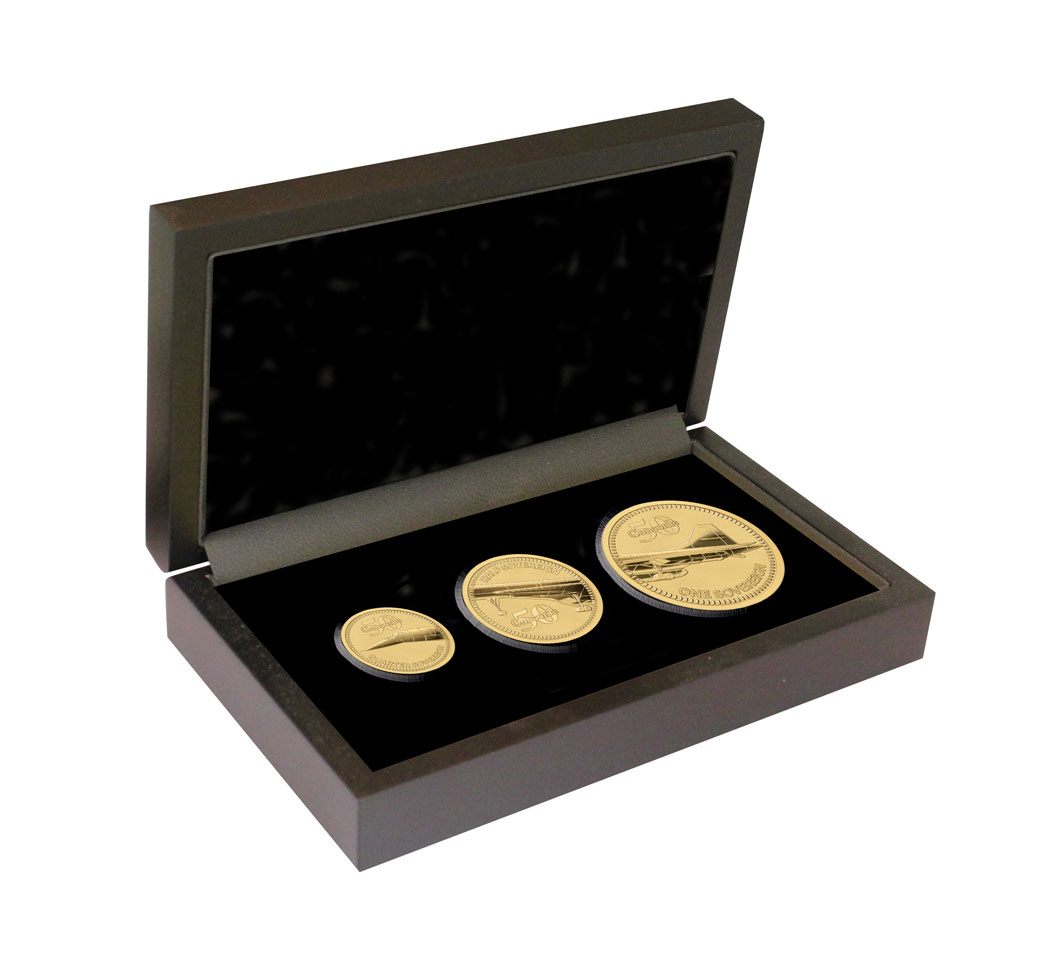 Concorde 50th Anniversary Gold Prestige Set