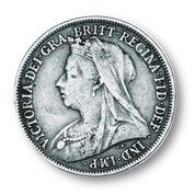 Veiled Portrait of Queen Victoria