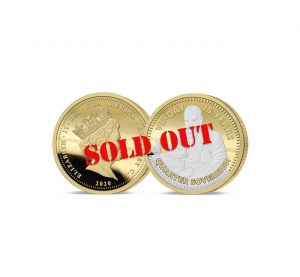 The 2020 VE Day 75th Anniversary Quarter Sovereign - SOLD OUT