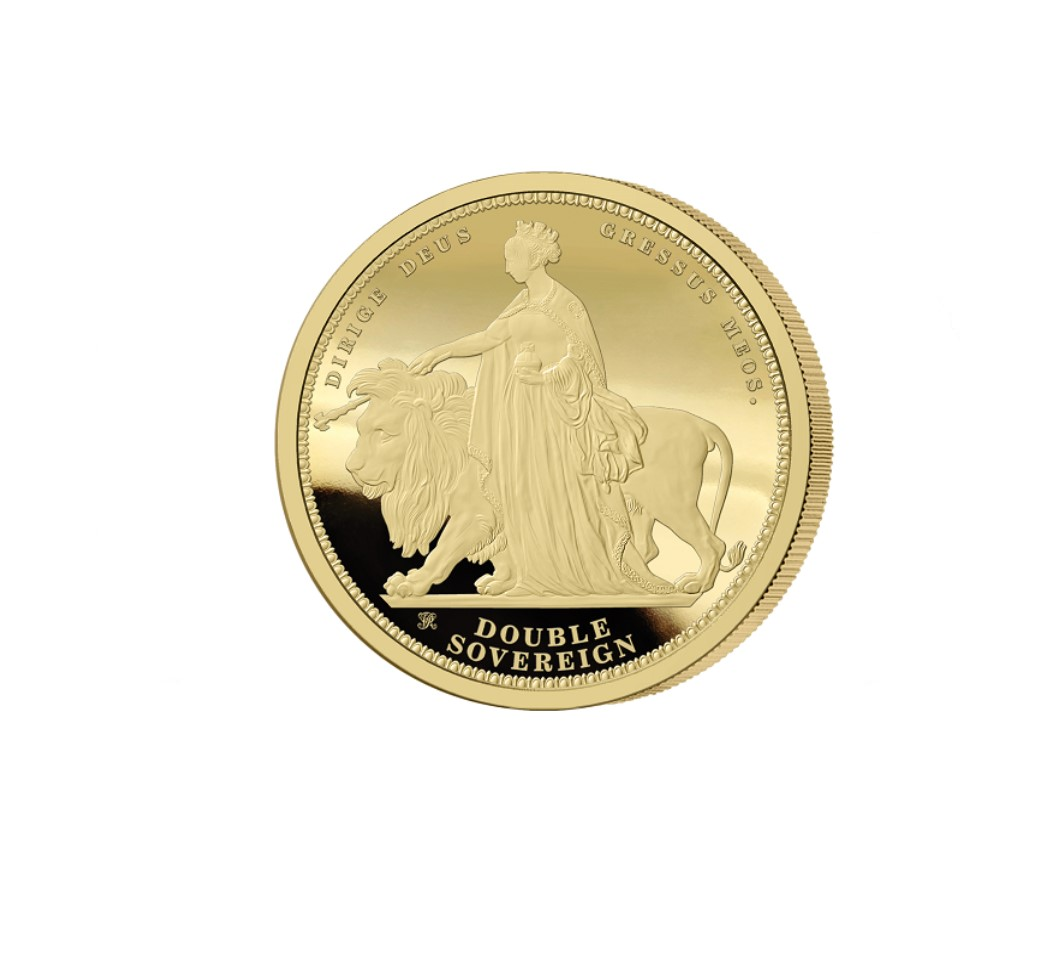 The 2019 Queen Victoria 200th Anniversary 24 Carat Gold Double Sovereign