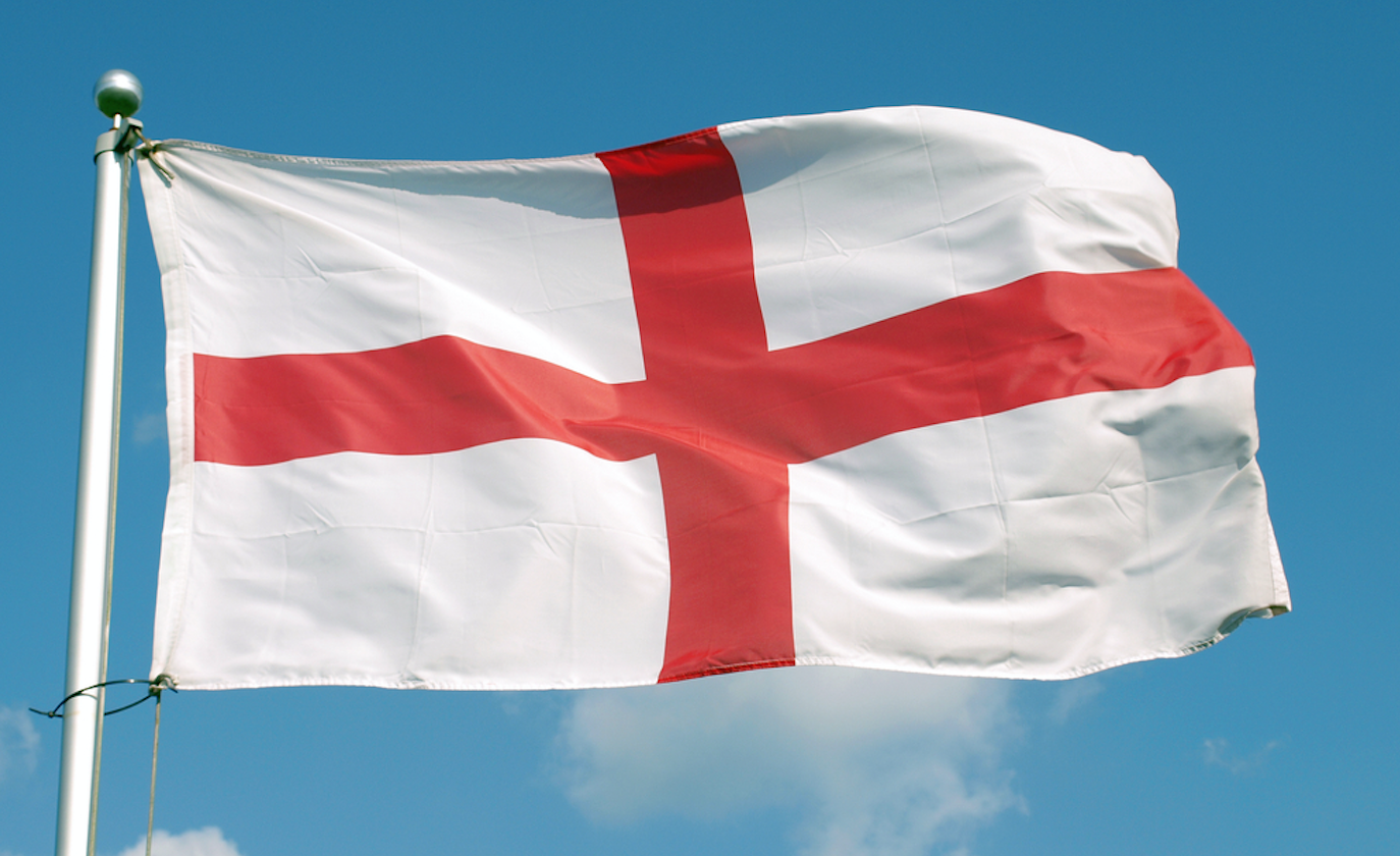 st george's day england flag