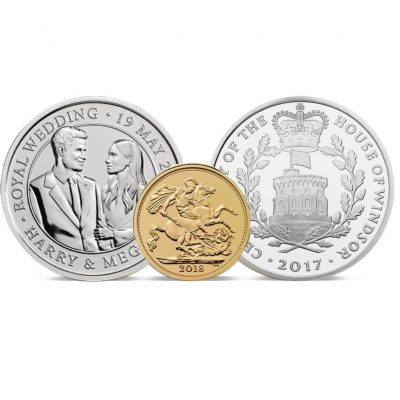 Royal Wedding of Harry and Meghan Coin Set