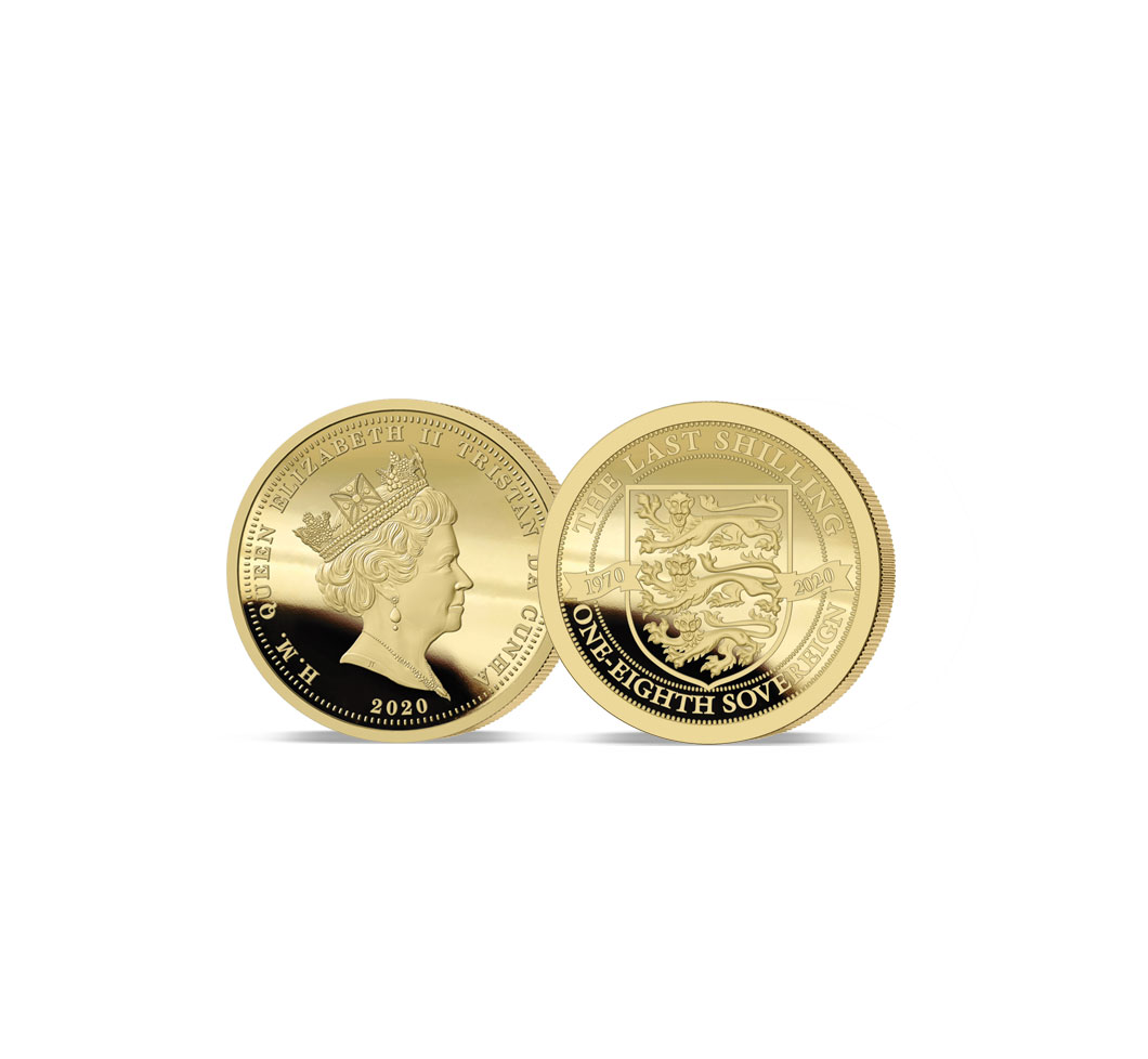 The 2020 Pre-Decimal 50th Anniversary Gold One-Eighth Sovereign