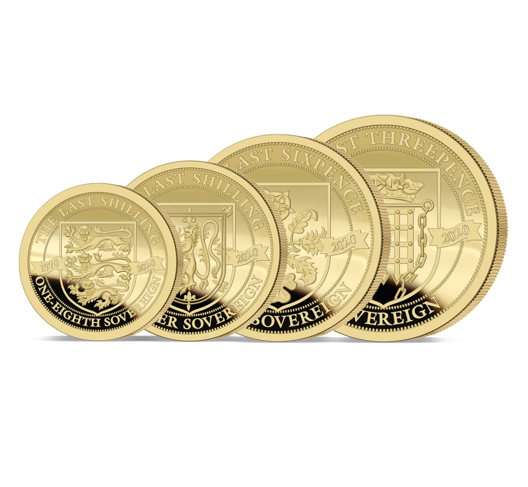 The 2020 Pre-decimal 50th Anniversary Gold Prestige Set