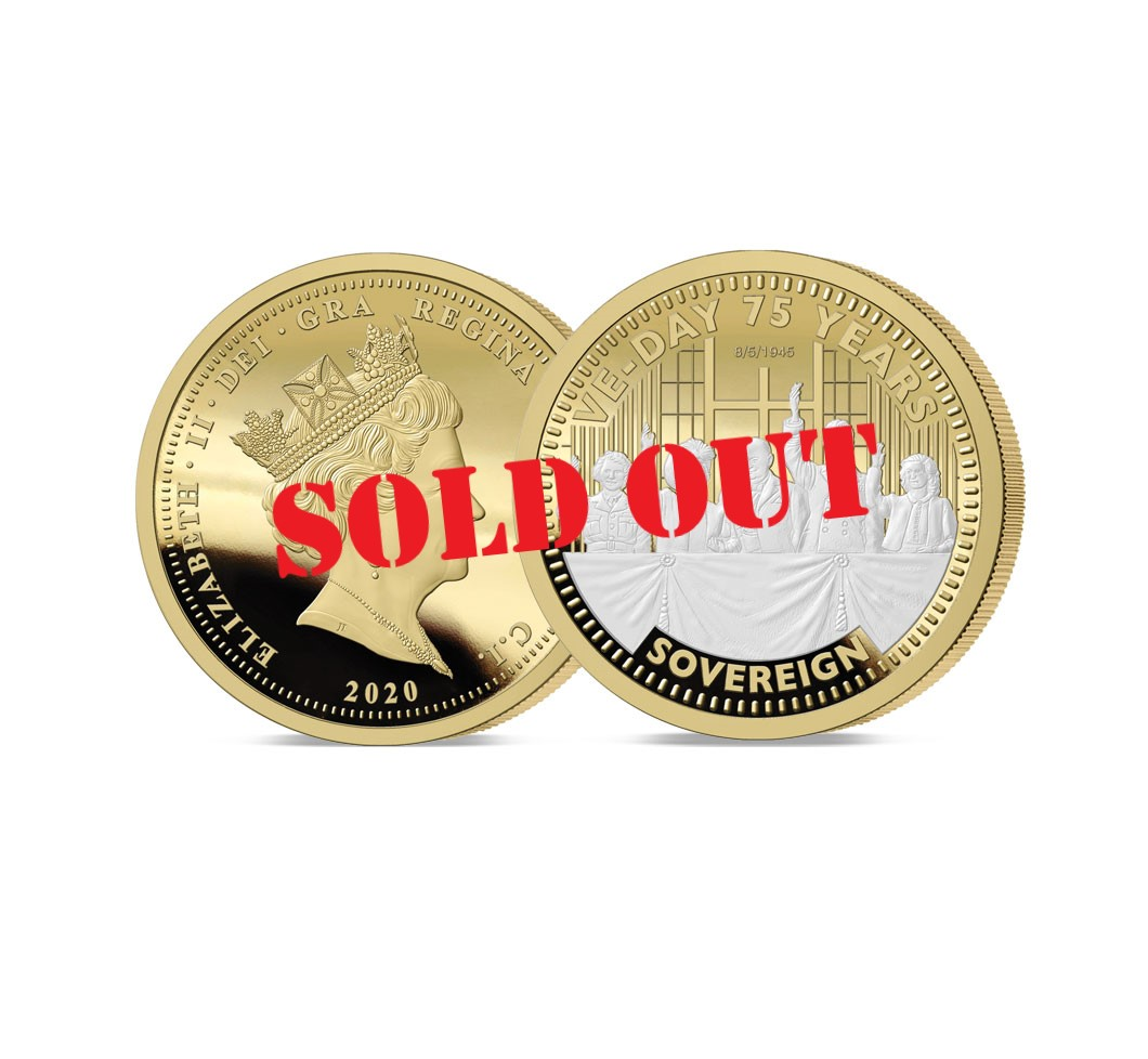 The VE Day 75th Anniversary Gold Sovereign - SOLD OUT