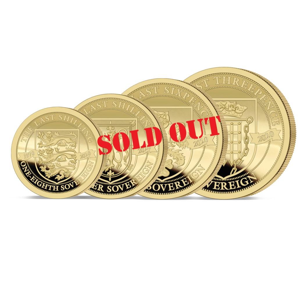 The 2020 Pre-decimal 50th Anniversary Gold Prestige Sovereign Set