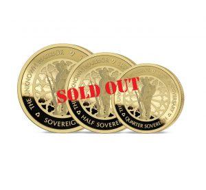 The 2020 Unknown Warrior Gold Prestige Sovereign Set
