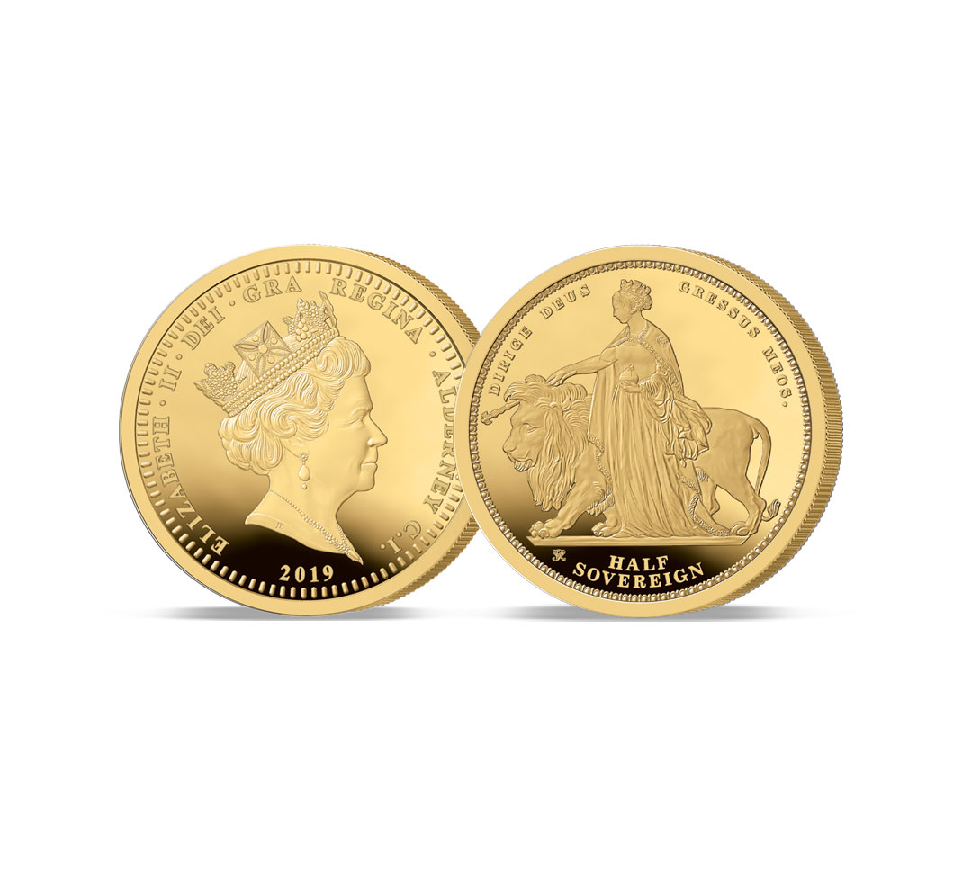 The 2019 Queen Victoria 200th Anniversary Gold Half Sovereign