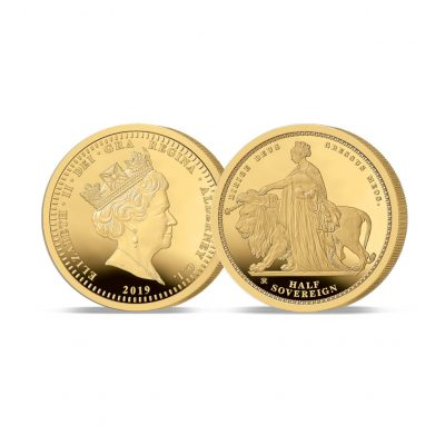 The 2019 Queen Victoria 200th Anniversary Gold Half Sovereign