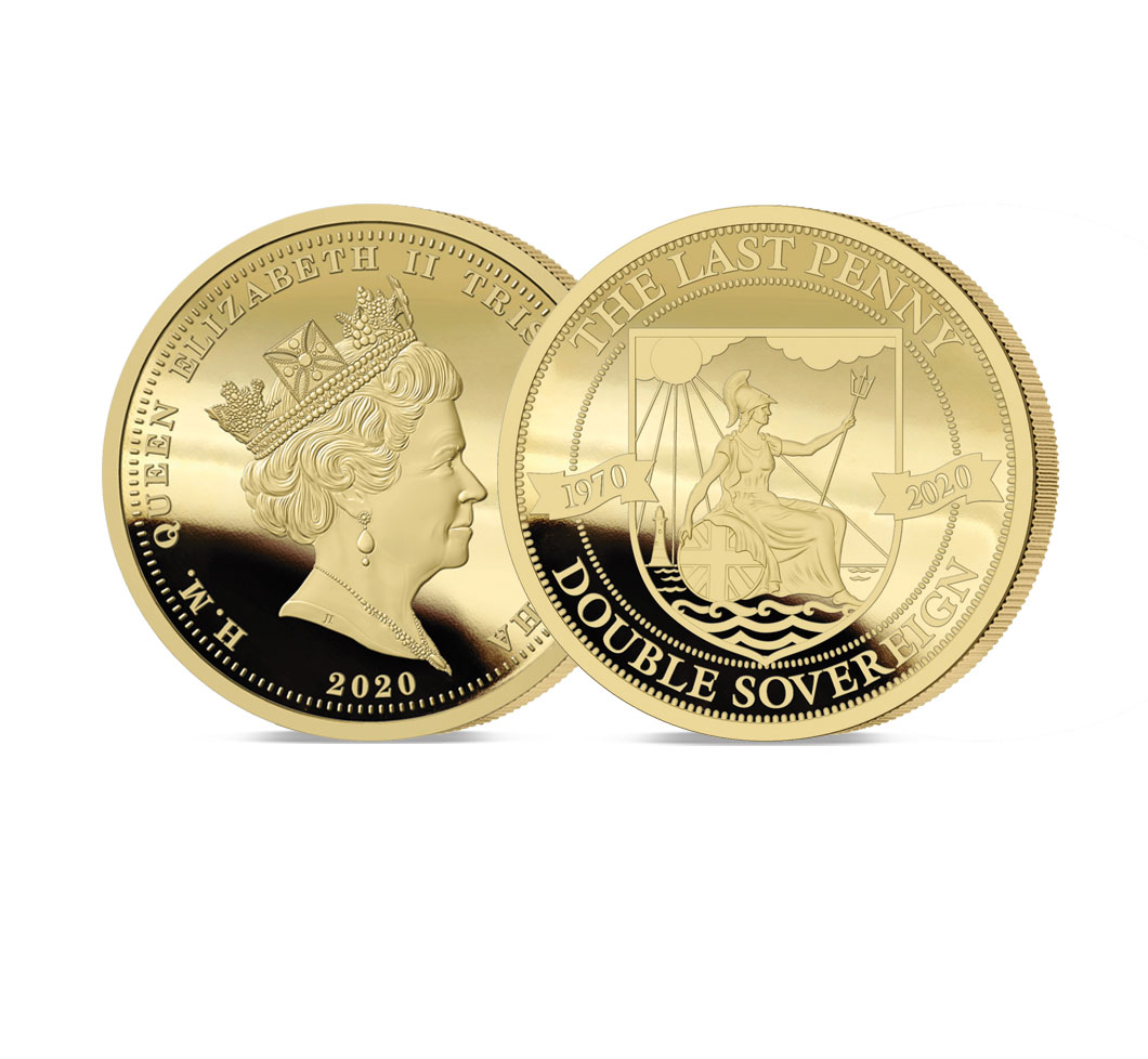 The 2020 Pre-decimal 50th Anniversary Gold Double Sovereign