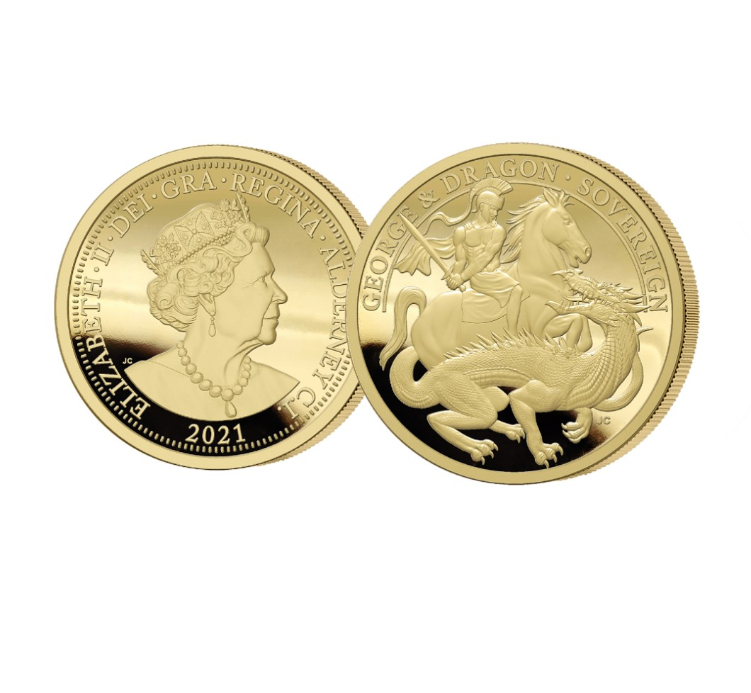 The 2021 George and the Dragon 200th Anniversary Gold Sovereign