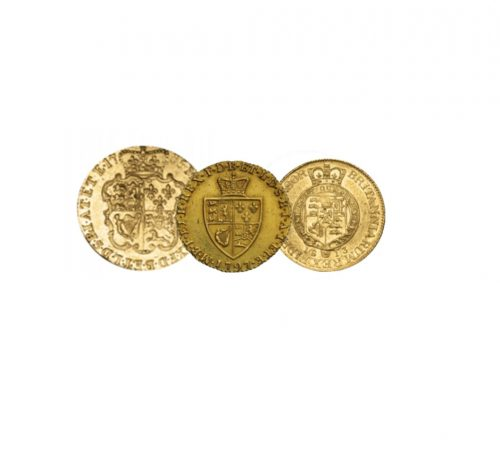 King George III 200th Anniversary Gold Prestige Set
