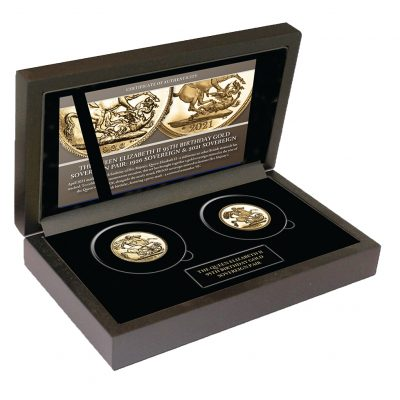 Queen Elizabeth II 1926 and 2021 Set