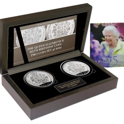 The Queen Elizabeth II 95th Birthday Commemorative Set