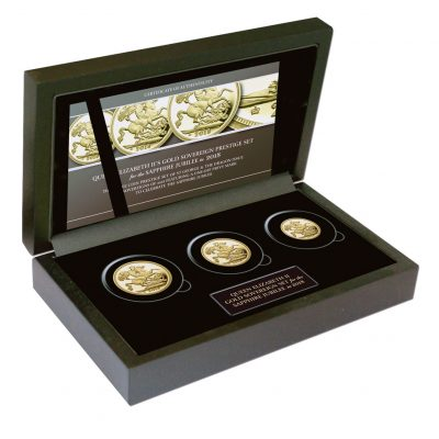 Queen Elizabeth II 2018 Gold Sovereign Prestige Set