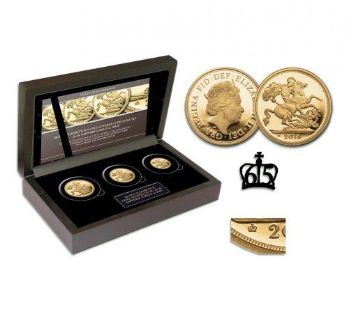 Queen Elizabeth II 2018 Gold Sovereign Prestige Set