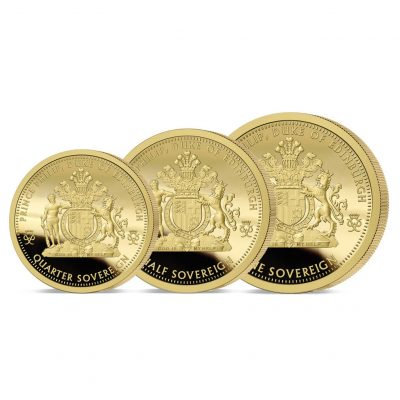 The 2021 Prince Philip Tribute Gold Prestige Sovereign Set