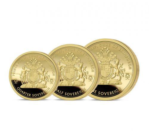 The 2021 Prince Philip Tribute Gold Prestige Sovereign Set
